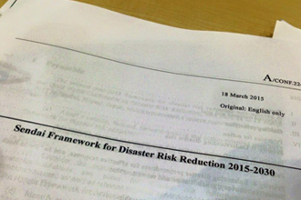 Sendai Framework for Disaster Risk Reduction 2015-2030