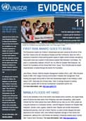 Evidence, monthly UNISDR newsletter: issue 11, August 2012