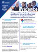 Evidence, monthly UNISDR newsletter: issue 16, April 2013