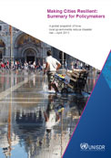Making cities resilient summary for policymakers: a global snapshot of how local governments reduce risk