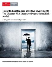Towards disaster-risk sensitive investments: The Disaster Risk-Integrated Operational Risk Model