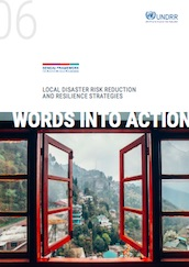 Words into Action guideline: Implementation guide for local disaster risk reduction and resilience strategies