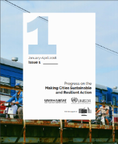 Progress on the Making Cities Sustainable and Resilient Action