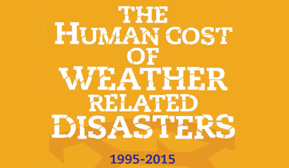 20-year review shows 90% of disasters are weather-related