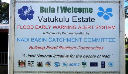 Integrated action and partnerships with communities is a means to strengthen safety and resilience of vulnerable islanders. Vatukulu in Western Fiji is proud of its early warning system and thanks its various partners.