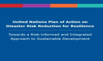 United Nations Plan of Action on Disaster Risk Reduction